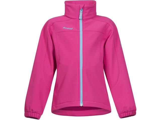 Bergans Reine Jacket Barn hot pink/deep turquoise